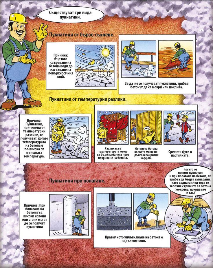 Как да избегнем пукнатините в бетона